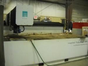 I-6012 Flow International Integrated Flying Bridge System Work Envelope: 6'x12'