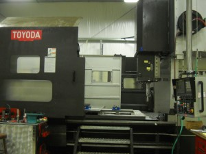 "Toyoda Awea 5025 Work Envelope 196""x98""x39.5"" Additional Automatic 90 degree Head Exchange Renishaw OMP60 Probe"